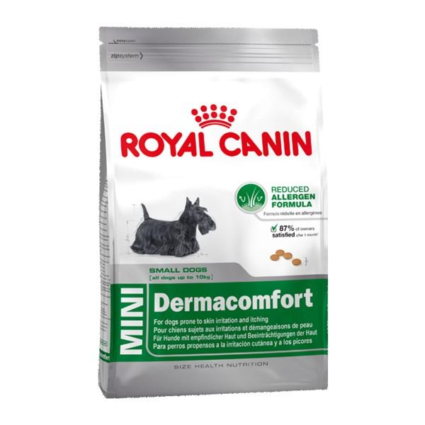 royal canin mini dermacomfort g nstig kaufen bei zooroyal. Black Bedroom Furniture Sets. Home Design Ideas