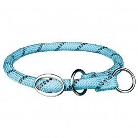 Trixie Sporty Rope Zug-Stopp-Halsband, hellblau