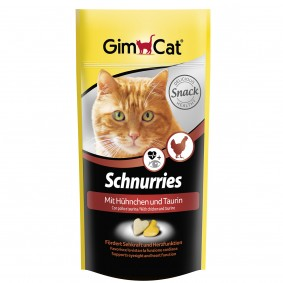 GimCat Schnurries Taurin und Hühnchen