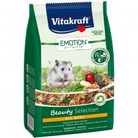 Vitakraft Emotion Beauty Selection Zwerghamster 300g