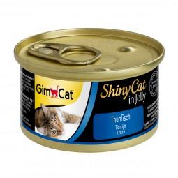 GimCat ShinyCat Thunfisch 6x70g