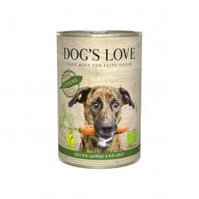 Dog's Love Bio Gartenernte Vegan se zeleninou a ovocem