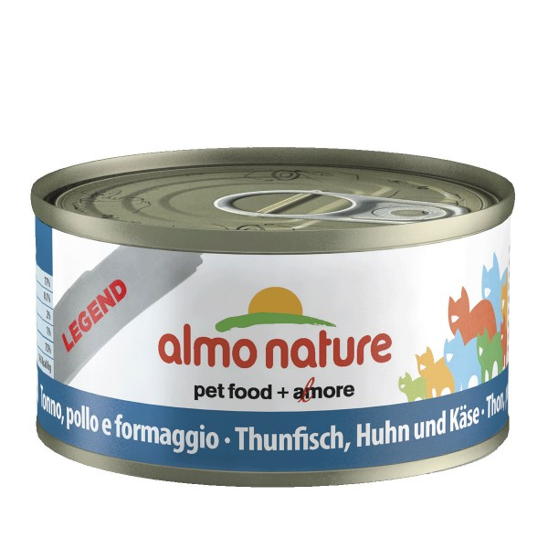 Almo Nature Katzenfutter 70g - Thunfisch, Huhn ...