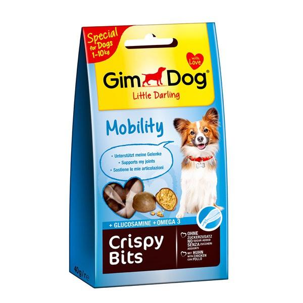 GimDog Hundesnack Crispy Bits Mobility 40g