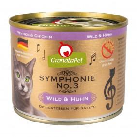 GranataPet Symphonie No. 3 Wild & Huhn 6x200g