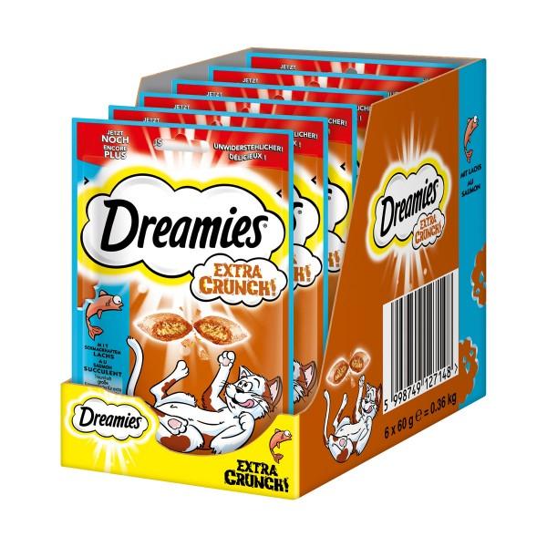 Dreamies Katzensnack Extra Crunch mit Lachs