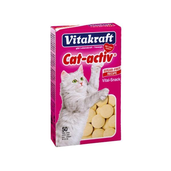 Vitakraft Cat-activ Vital Snack 50 Stück