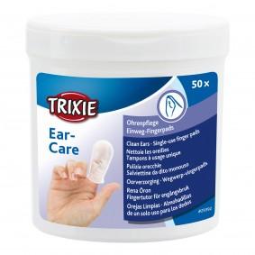 Trixie Ohrenpflege Einweg-Fingerpads 50 Stk.