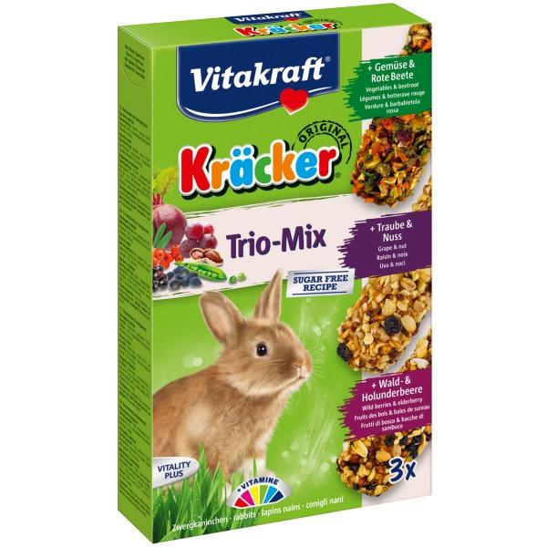 Vitakraft Kräcker Trio Mix Zwergkaninchen