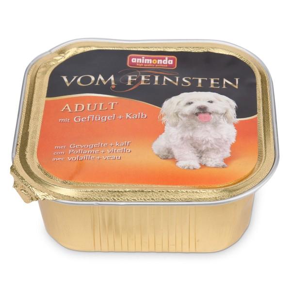 Animonda Hundefutter Vom Feinsten Adult Geflügel und Kalb