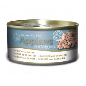 Applaws Cat Sardine mit Shrimps in Gelee