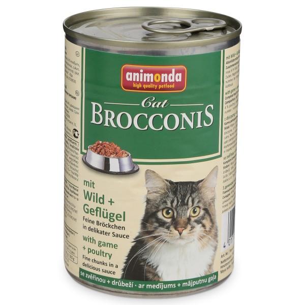 Animonda Katzenfutter Brocconis Wild und Geflügel