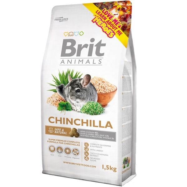 Brit Animals Chinchilla Complete