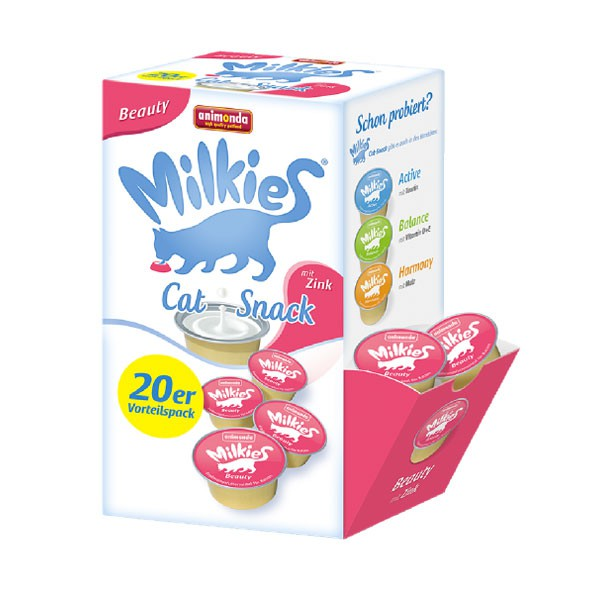 Animonda Katzensnack Milkies Schleck-Snack Beauty 20x15g