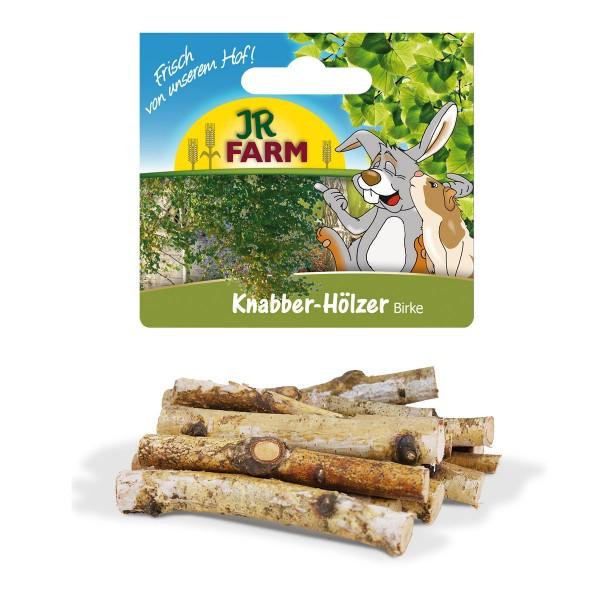 Haustier Angebot: JR Farm Knabber-Hölzer Birke für Nager
