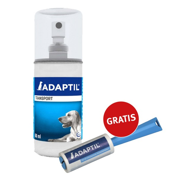 Adaptil Transportspray 60ml mit gratis Fusselrolle