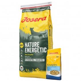 Josera Nature Energetic 15kg + Josera Knuspies 1,5kg GRATIS
