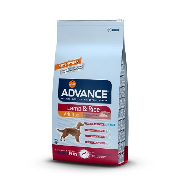 Advance Hundefutter Lamm und Reis - 12kg