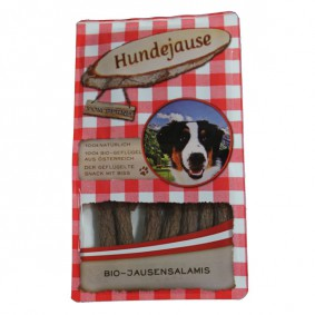 Hundejause Hundesnack Bio JausenSalamis 150g