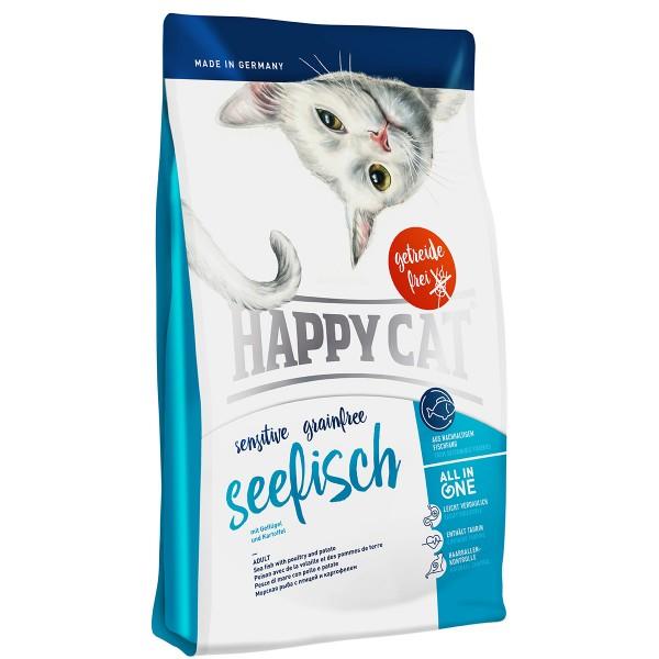 Happy Cat Sensitive Grainfree Seefisch 3x4kg