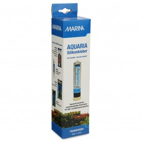 MARINA AQUARIA Silikonkleber für Aquarien, Transparent 310ml