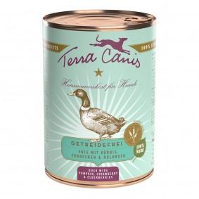 Terra Canis getreidefrei Ente mit Kürbis, Erdbeeren und Holunder
