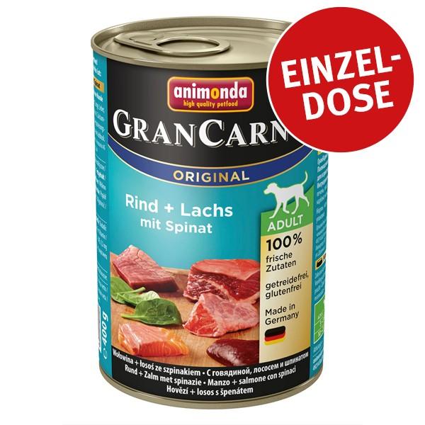 Animonda GranCarno Original Adult Rind und Lachs mit Spinat 400g