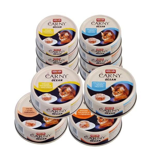 Animonda Katzenfutter Carny Ocean Mixpaket 1 12x80g