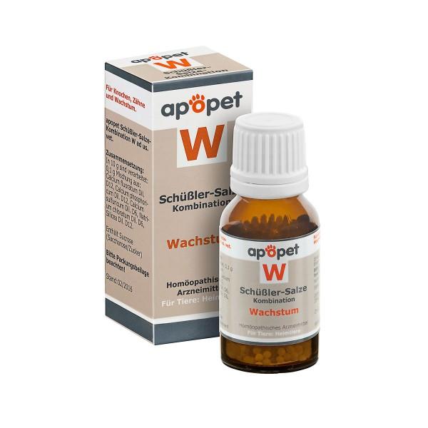 apopet Schüßler Salz Kombination W (Wachstum)