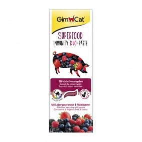 GimCat Superfood Immunity DuoPaste mit Leber & Waldbeeren