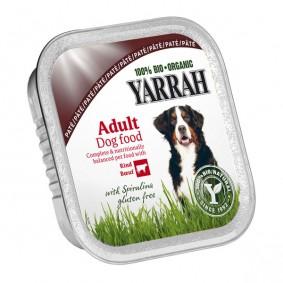 Yarrah Hundefutter Bio Pate Rind Spirulina