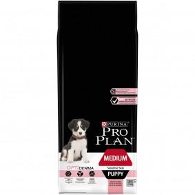 Pro Plan Medium Puppy Sensitive Skin reich an Lachs & mit Reis 12kg