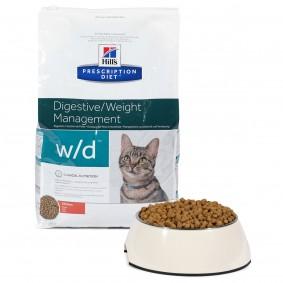Hill's Prescription Diet w/d Digestive & Weight Management Katzenfutter mit Huhn
