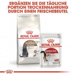 ROYAL CANIN AGEING 12+ Sterilised Trockenfutter für ältere kastrierte Katzen 4kg