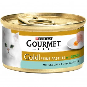 Gourmet Gold Feine Pastete Seelachs&Karotten