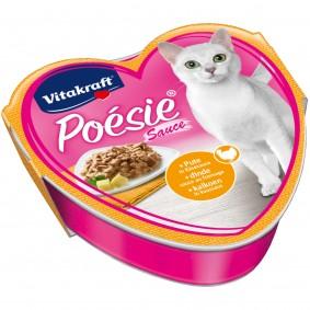 Vitakraft Katzenfutter Poésie mit Pute in Käsesauce