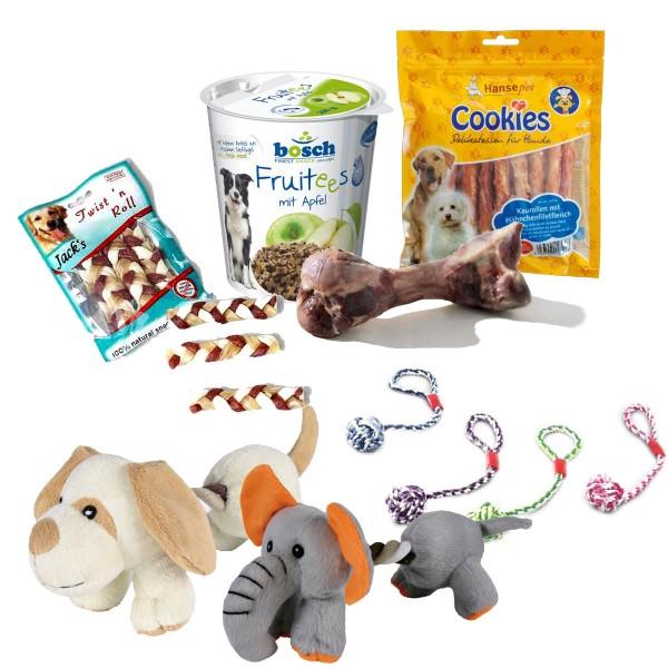 Snack and Play Box für Katzen oder Hunde