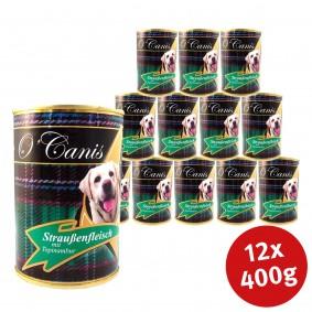 O'Canis Hundefutter Straußenfleisch und Topinambur 400g