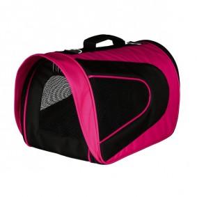 Trixie Transporttasche Alina pink/schwarz