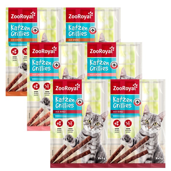ZooRoyal Grillies Mixpaket 24x5g