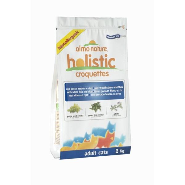 Almo Nature Holistic Cat Weissfisch+Reis - 2kg
