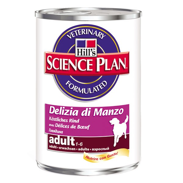 Hill´´s Science Plan Adult mit Rind 12x370g