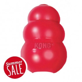 Kong Hundespielzeug Original Classic rot 8cm
