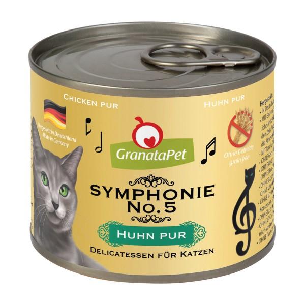 GranataPet Symphonie No. 5 Huhn pur 6x200g