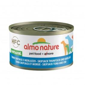 Almo Nature HFC Natural Dog Skip Jack Thunfisch und Kabeljau