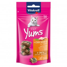 Vitakraft Cat Yums Huhn & Katzengras