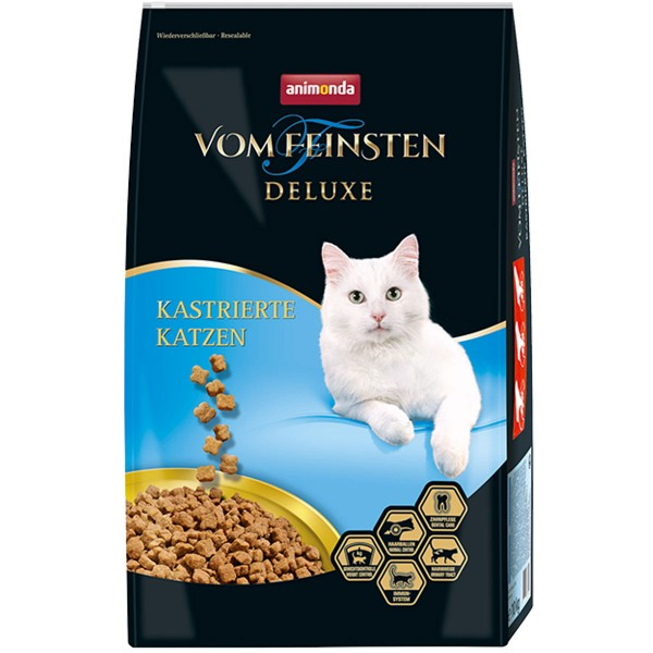 Animonda Vom Feinsten Deluxe für kastrierte Kat...