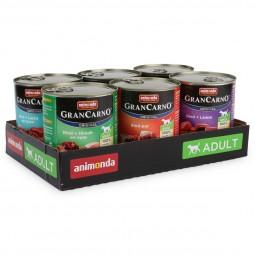 Animonda Hundefutter GranCarno Mixpaket 1 6x800g