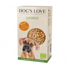 Dog's Love Hundesnacks Goodies-Bio Pute 150g