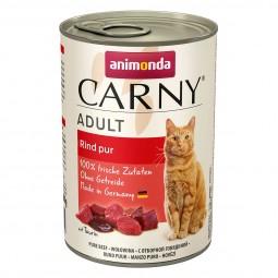 Animonda Katzenfutter Carny Adult Rind pur